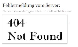 error-404-ohne-Infos