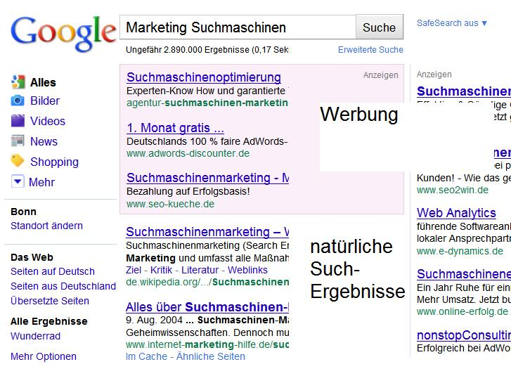 marketing-suchmaschinen