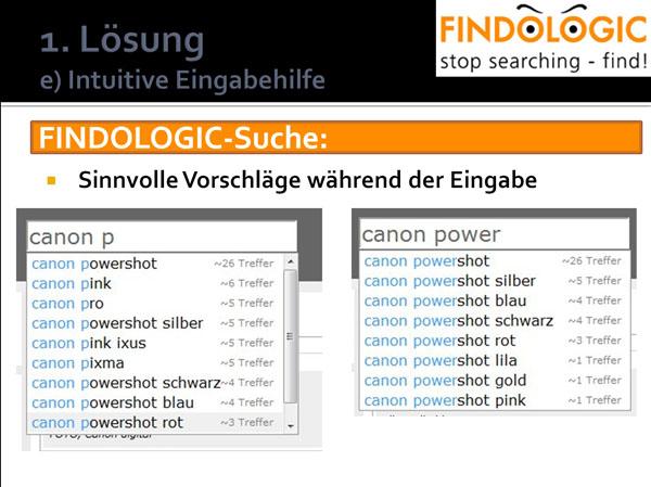 FINDOLOGIC: Finden statt suchen